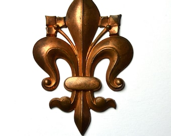 Antique French Fleur De Lys Stamping From 1920s