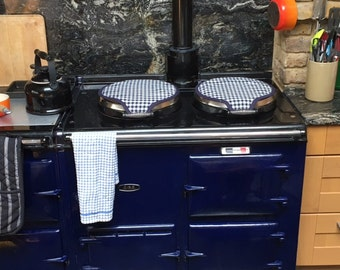 AGA Cooker - magnetic range lid covers
