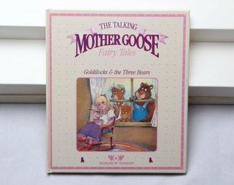 The Talking Mother Goose Fairy Tales Book Goldilocks & the Three Bears