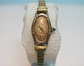 Marine 14K Rolled Gold Art Deco Ladies Vintage with jewel crown