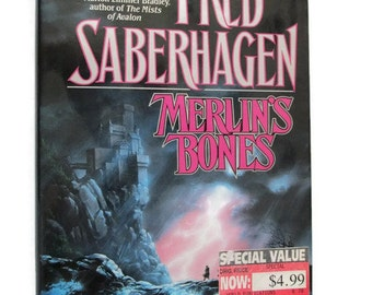 Merlin's Bones by Fred Saberhagen Hardcover Book First Edition