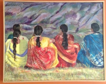 Women in Mahabaleshwar