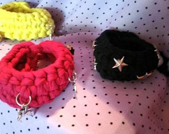 Trapillo bracelets handmade