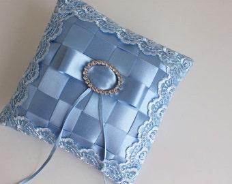blue ring bearer, blue ring bearer pillow, blue ring pillow, something blue ring bearer, something blue ring bearer pillow, something blue