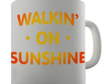 Walking On Sunshine Ceramic Mug