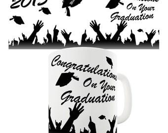Congratulations 2015 Graduation Ceramic Mug