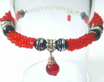 Beaded Beads Bracelet.