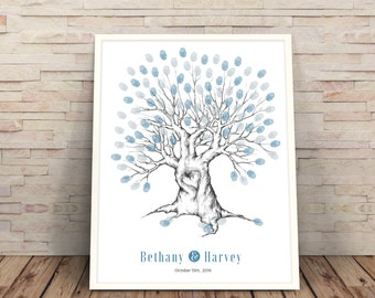 Wedding Tree, finger print tree, Printable wedding Tree, wedding tree printable, Wedding Guest Book, Wedding Trees, fingerabdruck hochzeit