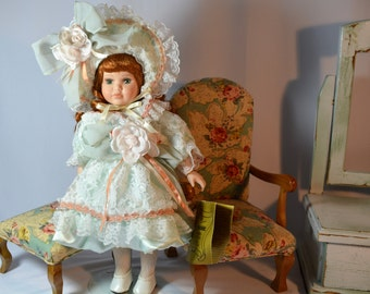 Seymour Mann, Porcelain Doll, Limited Edition, Gail,  Collectible, Vintage, Doll, Award Winning