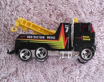 vintage 1981 semi tow truck