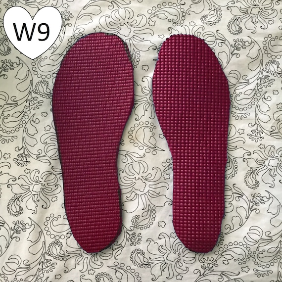 Items Similar To Women's Size 9 Yoga Mat Insole On Etsy