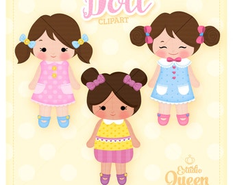 ClipArt Doll, Girls Doll ClipArt, Toys Baby, Download