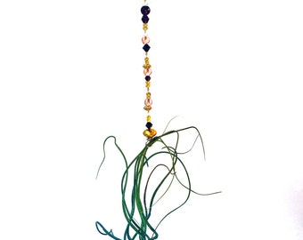 Beaded Air Plant Hanger- air plants- tillandsia- hanging planter