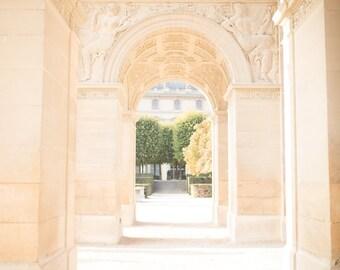 Paris Photography, Sunny Day at the Palais du Louvre, Paris Print, Home Decor, Paris Decor, Summer in Paris, Paris Architecture