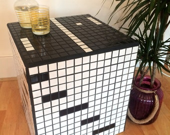 PONG Coffee Tile Table // Handmade in London