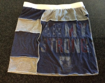T-Shirt Skirt, Womens' Large, U.S. Army