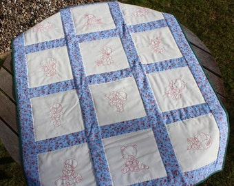 Child's Handmade Patchwork Quilt – Charity Quilt