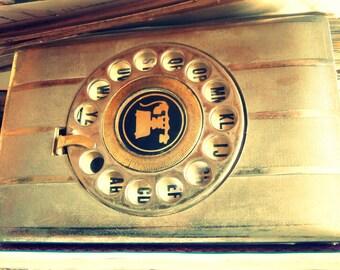 Vintage telephone book / vintage address book