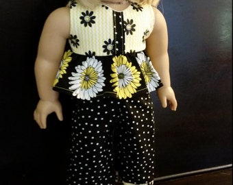 Doll Ruffle Top & Capris