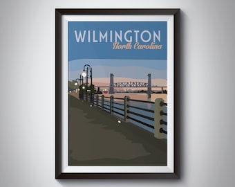 Wilmington | Travel Poster | Instant Download