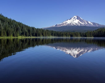 Mount Hood on a Clear Day