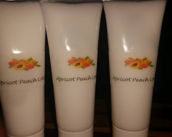Apricot peach lotion