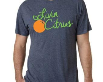 Livin Citrus Orange Logo Design