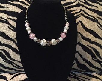 Perfectly Pink Necklace