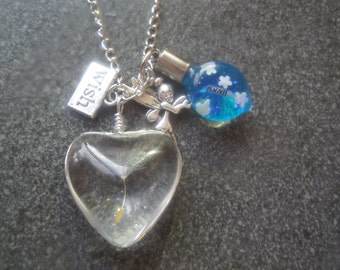 A personalised Fairy wishes necklace