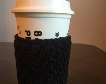 Crochet cup cozy, soft crochet cup cozy, cup holder