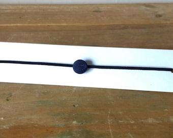 Minimalist Cord Button Choker