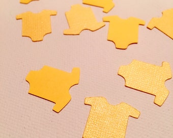 Baby Shower Shirts Decoration Confetti Party Decor (Yellow)