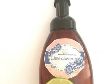 Lime-A-Licious Organic Luxury Foaming Handsoap