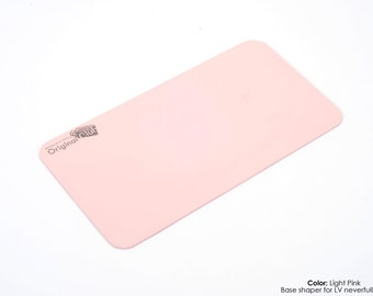 Light Pink Bag Base Shaper for Purses and Bags, Handcrafted MDF Wood Custom Base Shapers for LV and All Other Bags ( Express Shipping )