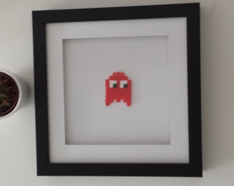 PAC man monsters in 3D picture frame