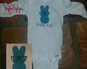 Bunny peeps bodysuit
