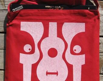Red Panda Messenger Tote Bag