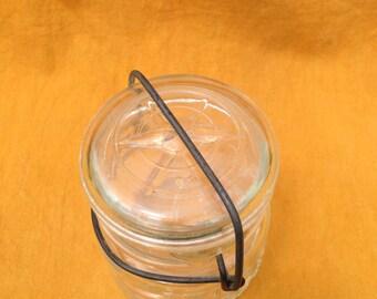 Half pint vintage mason jar