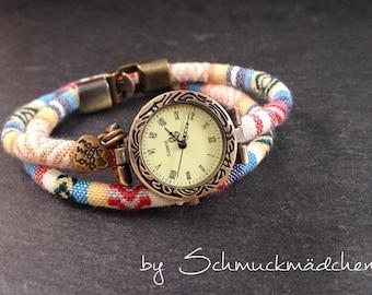 Watch bracelet bronze boho