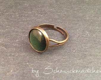 Ring bronze green