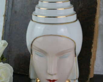 ROBJ marked ART DECO 1930 French Cookie candy jar