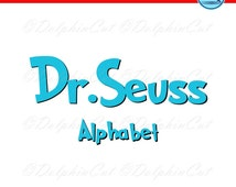 This is a photo of Handy Dr Seuss Letters Printable