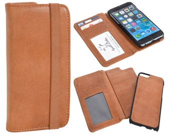 Gusti leather 2-piece cell phone case Apple iPhone 6