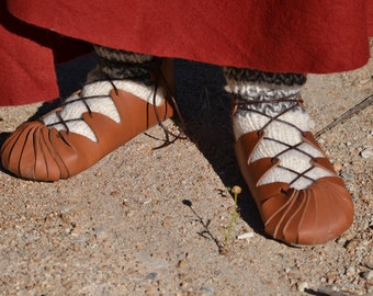 Carbantina, Roman, roman shoe shoes, a reenactment