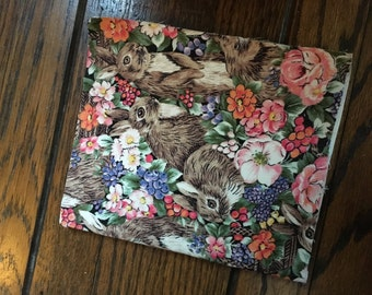 Handmade Fabric Notebook/Sketchbook