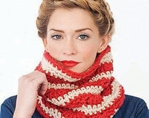 Infinity scarf striped