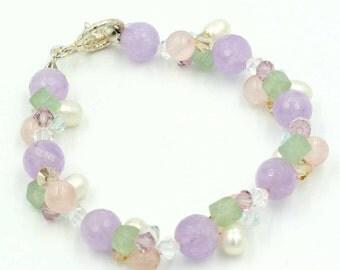 Amethyst, Sweet Lilac Bracelet