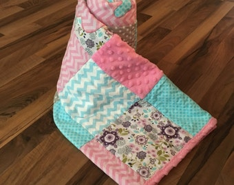 Custom Personalized Baby Quilt