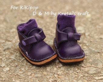 Krat shoes for Kikipop Color Deep Purple