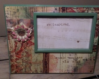 Music Soothes The Soul Picture Frame - 4x6